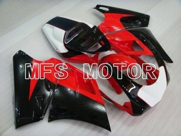 Ducati 748 / 998 / 996 1994-2002 Injection ABS Fairing - Factory Style - Black Red - MFS4599