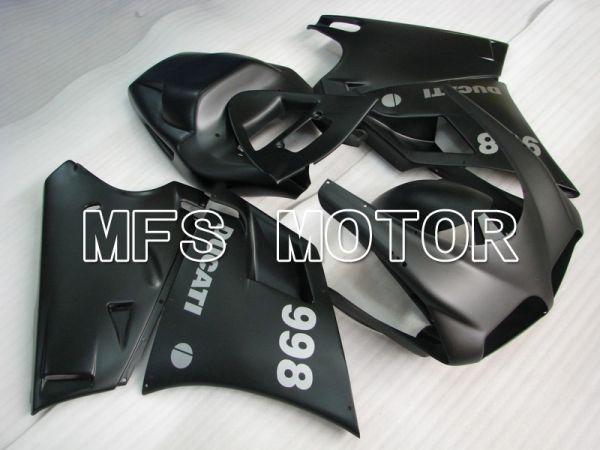 Ducati 748 / 998 / 996 1994-2002 Injection ABS Fairing - Factory Style - Black - MFS4600