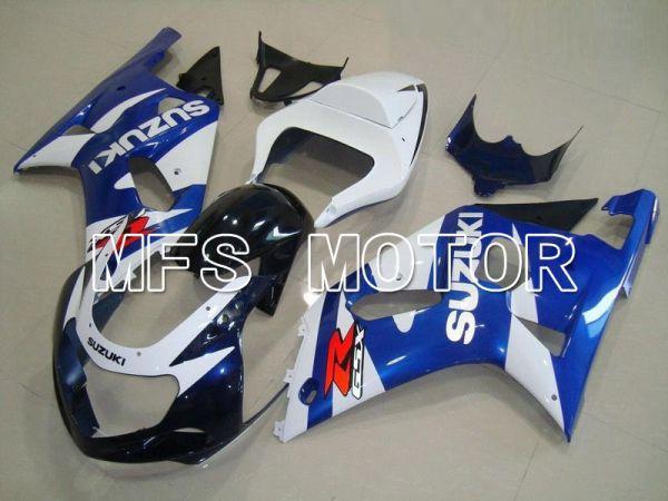 Suzuki GSXR600 2001-2003 Injection ABS Fairing - Factory Style - White Blue - MFS4601
