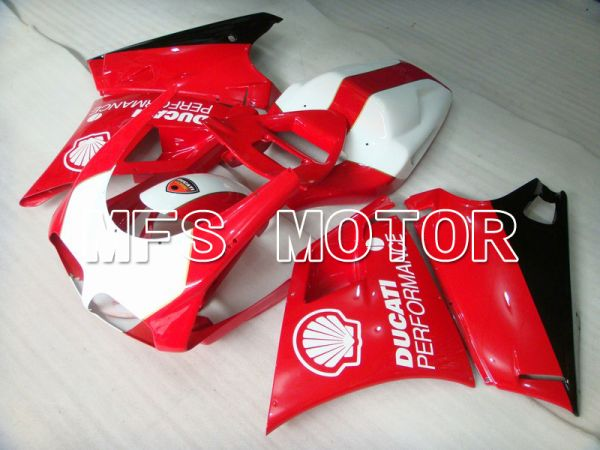 Ducati 748 / 998 / 996 1994-2002 Injection ABS Fairing - Performance - Red White - MFS4612