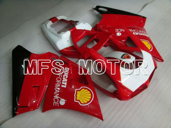 Ducati 748 / 998 / 996 1994-2002 Injection ABS Fairing - Performance - Red White - MFS4613