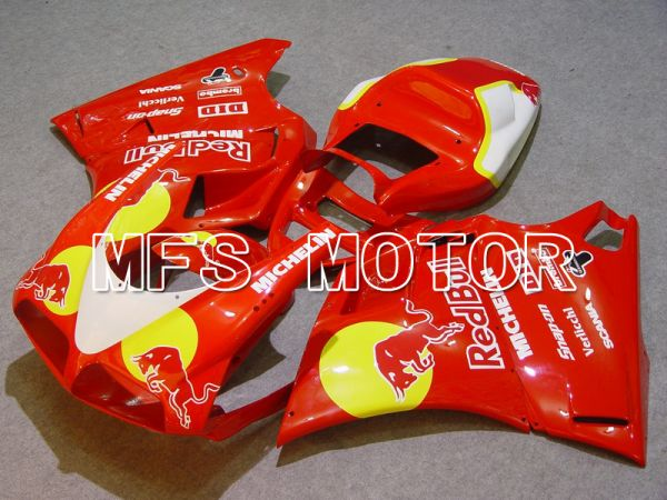 Ducati 748 / 998 / 996 1994-2002 Injection ABS Fairing - Red Bull - Red - MFS4617