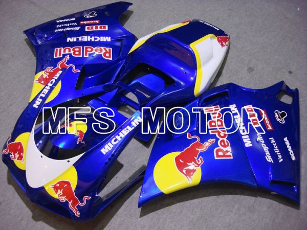 Ducati 748 / 998 / 996 1994-2002 Injection ABS Fairing - Red Bull - Blue - MFS4619