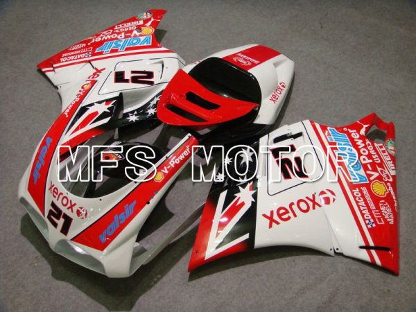 Ducati 748 / 998 / 996 1994-2002 Injection ABS Fairing - Xerox - Red White - MFS4623