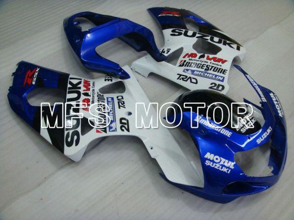 Suzuki GSXR600 2001-2003 Injection ABS Fairing - Others - White Blue - MFS4624