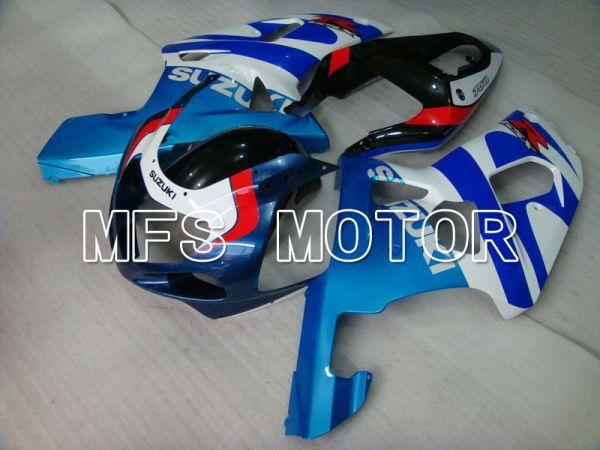 Suzuki GSXR600 2001-2003 Injection ABS Fairing - Factory Style - White Blue - MFS4642