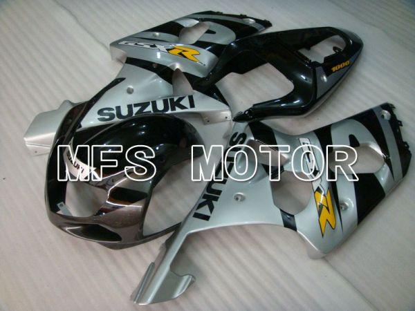 Suzuki GSXR600 2001-2003 Injection ABS Fairing - Factory Style - Gray Black - MFS4645