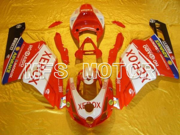 Ducati 749 / 999 2003-2004 Injection ABS Fairing - Xerox - Red White - MFS4655