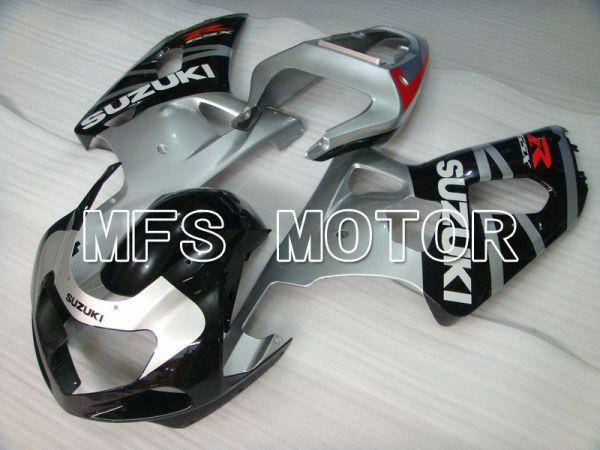 Suzuki GSXR600 2001-2003 Injection ABS Fairing - Factory Style - Black Silver - MFS4660