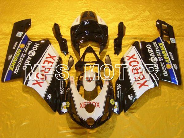 Ducati 749 / 999 2003-2004 Injection ABS Fairing - Xerox - Black White - MFS4662