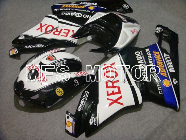 Ducati 749 / 999 2003-2004 Injection ABS Fairing - Xerox - Black White - MFS4666