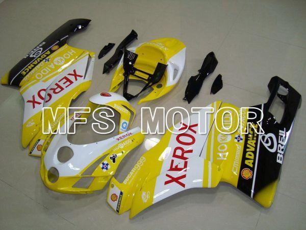 Ducati 749 / 999 2003-2004 Injection ABS Fairing - Xerox - Yellow White - MFS4668