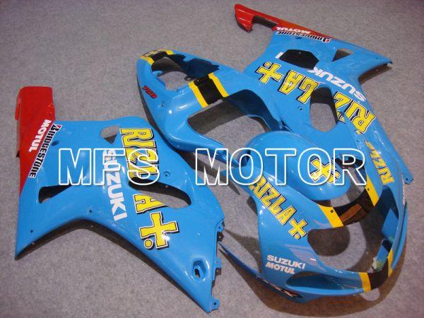 Suzuki GSXR600 2001-2003 Injection ABS Fairing - Rizla+ - Blue - MFS4678