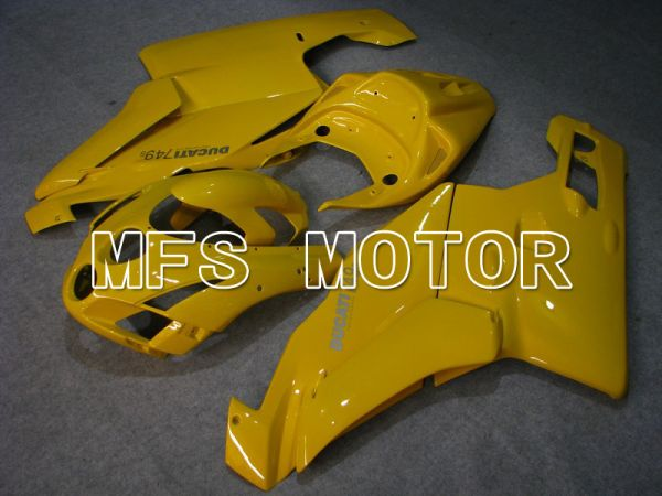 Ducati 749 / 999 2005-2006 Injection ABS Fairing - Factory Style - Yellow - MFS4685
