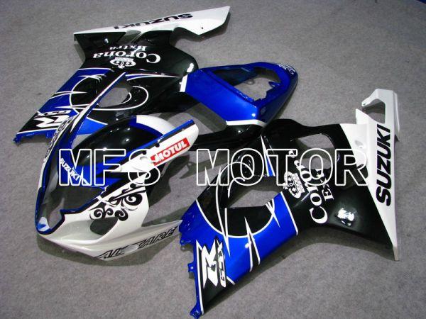 Suzuki GSXR600 GSXR750 2004-2005 Injection ABS Fairing - Corona - Black Blue White - MFS4702