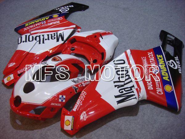 Ducati 749 / 999 2005-2006 Injection ABS Fairing - Marlboro - Red White - MFS4708