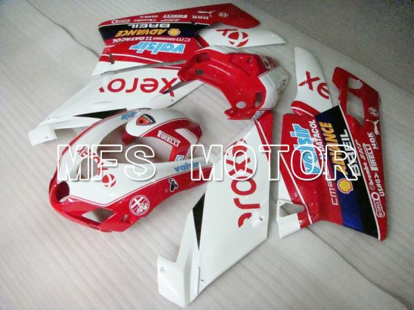 Ducati 749 / 999 2005-2006 Injection ABS Fairing - Xerox - Red White - MFS4718