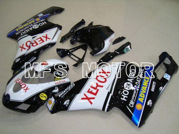 Ducati 749 / 999 2005-2006 Injection ABS Fairing - Xerox - Black White - MFS4721