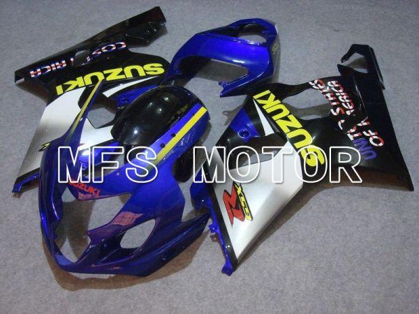 Suzuki GSXR600 GSXR750 2004-2005 Injection ABS Fairing - Factory - Black Blue Silver - MFS4764