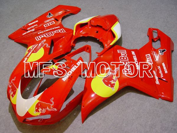 Ducati 848 / 1098 / 1198 2007-2011 Injection ABS Fairing - Red Bull - Red - MFS4767