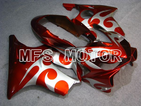Honda CBR600 F4i 2004-2007 Injection ABS Fairing - Others - Red Silver - MFS4785
