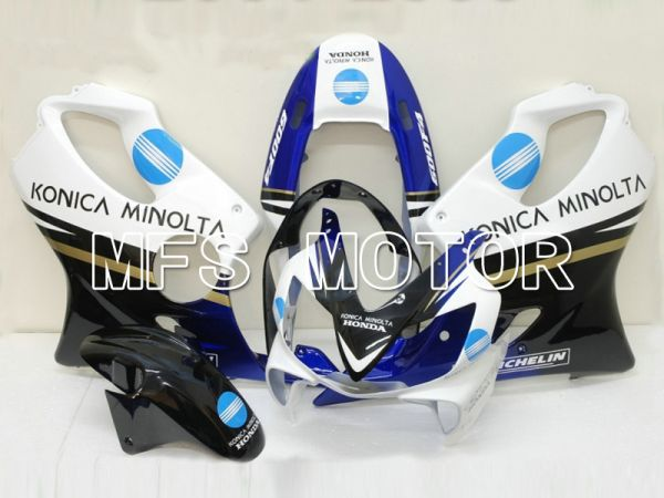 Honda CBR600 F4i 2004-2007 Injection ABS Fairing - Konica Minolta - Black White - MFS4794