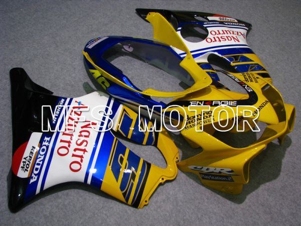 Honda CBR600 F4i 2004-2007 Injection ABS Fairing - Nastro Azzurro - Blue Yellow White - MFS4796