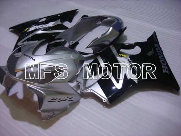 Honda CBR600 F4i 2004-2007 Injection ABS Fairing - Factory Style - Black Silver - MFS4803