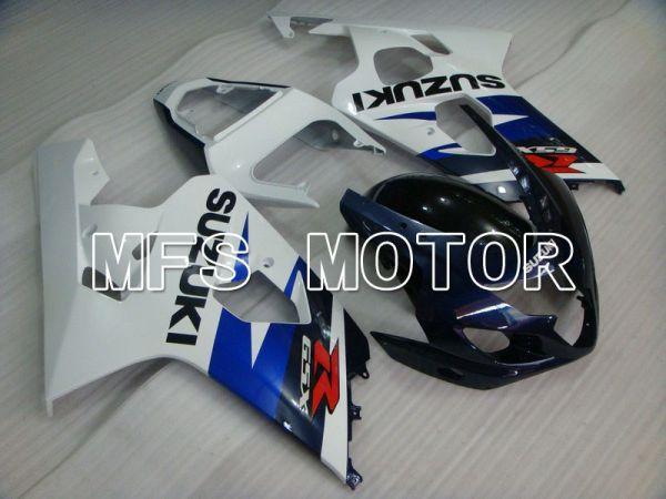 Suzuki GSXR600 GSXR750 2004-2005 Injection ABS Fairing - Factory Style - Blue White - MFS4818