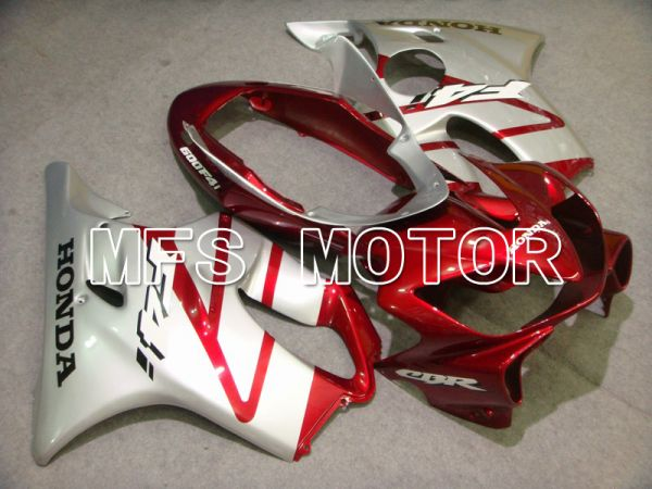 Honda CBR600 F4i 2004-2007 Injection ABS Fairing - Factory Style - Red wine color White - MFS4820