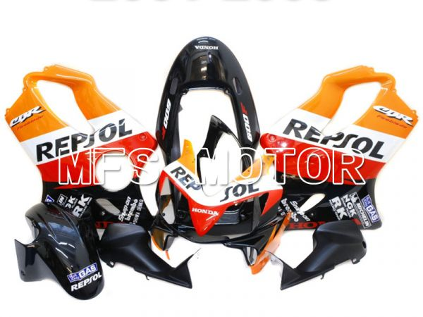 Honda CBR600 F4i 2004-2007 Injection ABS Fairing - Repsol - Black Red Orange - MFS4826