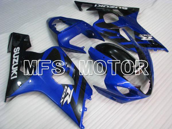 Suzuki GSXR600 GSXR750 2004-2005 Injection ABS Fairing - Factory Style - Black Blue - MFS4832