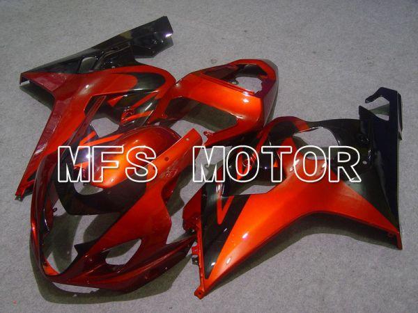 Suzuki GSXR600 GSXR750 2004-2005 Injection ABS Fairing - Factory - Orange Black - MFS4838