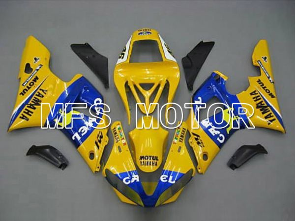 Yamaha YZF-R1 2000-2001 Injection ABS Fairing - Camel - Blue Yellow - MFS4855