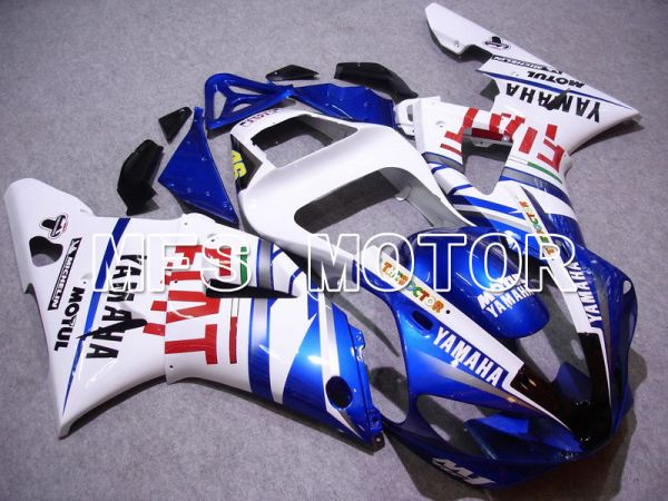 Yamaha YZF-R1 2000-2001 Injection ABS Fairing - FIAT - Blue White - MFS4856