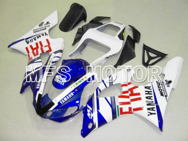 Yamaha YZF-R1 2000-2001 Injection ABS Fairing - FIAT - Blue White - MFS4857