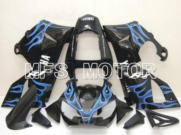 Yamaha YZF-R1 2000-2001 Injection ABS Fairing - Flame - Blue Black - MFS4868