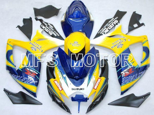 Suzuki GSXR600 GSXR750 2006-2007 Injection ABS Fairing - Corona - Blue Yellow - MFS4872