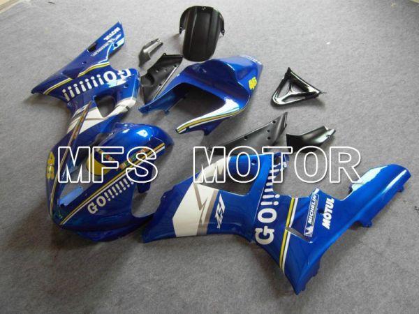Yamaha YZF-R1 2000-2001 Injection ABS Fairing - GO!!!!!!! - Blue - MFS4878
