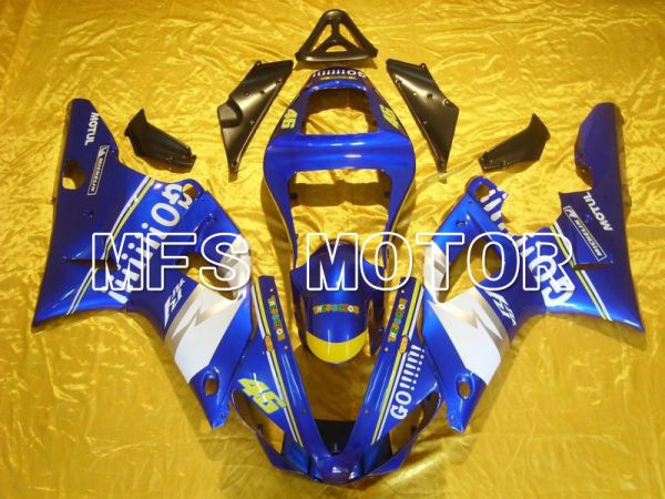 Yamaha YZF-R1 2000-2001 Injection ABS Fairing - GO!!!!!!! - Blue - MFS4879