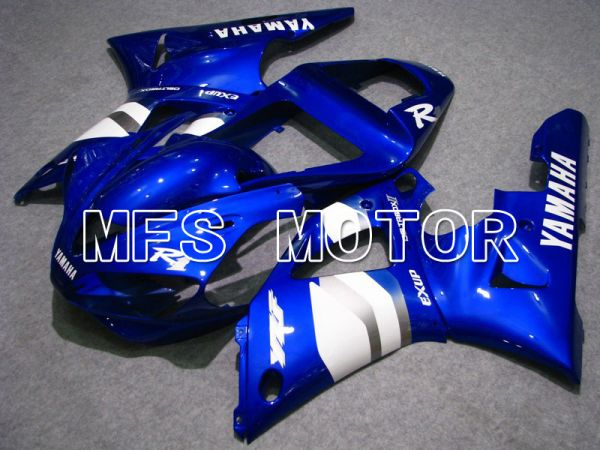 Yamaha YZF-R1 2000-2001 Injection ABS Fairing - Factory Style - Blue White - MFS4889