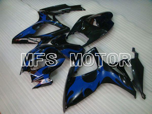Suzuki GSXR600 GSXR750 2006-2007 Injection ABS Fairing - Others - Black Blue - MFS4894