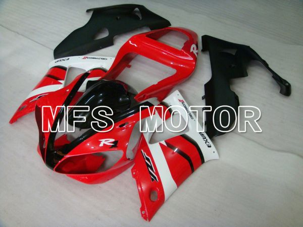 Yamaha YZF-R1 2000-2001 Injection ABS Fairing - Factory Style - Red White - MFS4898