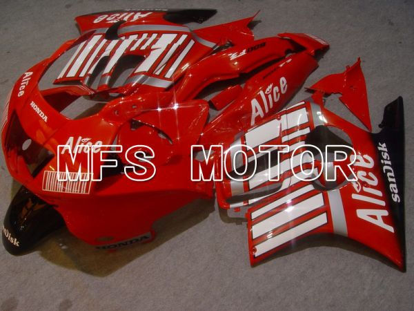 Honda CBR600 F3 1997-1998 Injection ABS Fairing - Alice - White Red - MFS4901