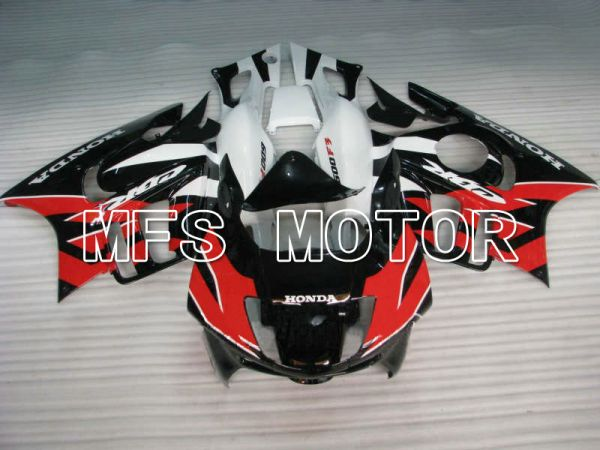 Honda CBR600 F3 1997-1998 Injection ABS Fairing - Factory Style - Black Red - MFS4960