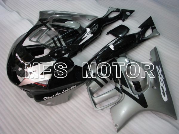 Honda CBR600 F3 1997-1998 Injection ABS Fairing - Factory Style - Black Silver - MFS4987
