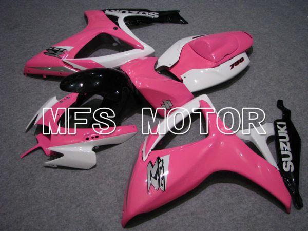 Suzuki GSXR600 GSXR750 2006-2007 Injection ABS Fairing - Factory - White Pink - MFS4989