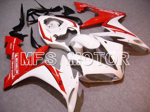 Yamaha YZF-R1 2004-2006 Injection ABS Fairing - Factory Style - Red White - MFS4991