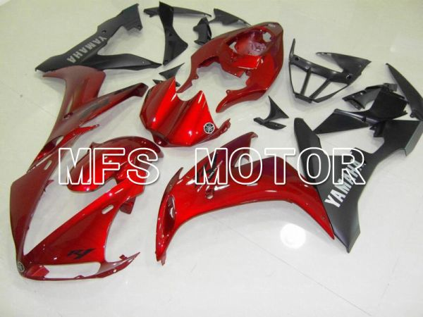 Yamaha YZF-R1 2004-2006 Injection ABS Fairing - Factory Style - Black Red - MFS4995
