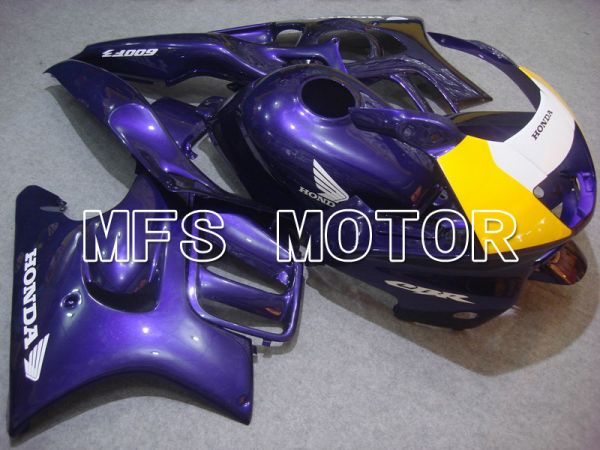 Honda CBR600 F3 1997-1998 Injection ABS Fairing - Factory Style - Purple Yellow - MFS4996